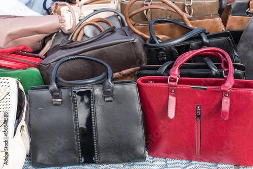 Fotografie, Obraz  Fake Designer Bags