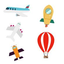 An Illustration Of Flying Mode...