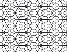 Geometry Line Hexagonal Seamle...