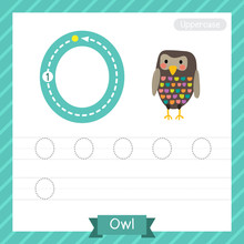 Letter O Uppercase Tracing Pra...