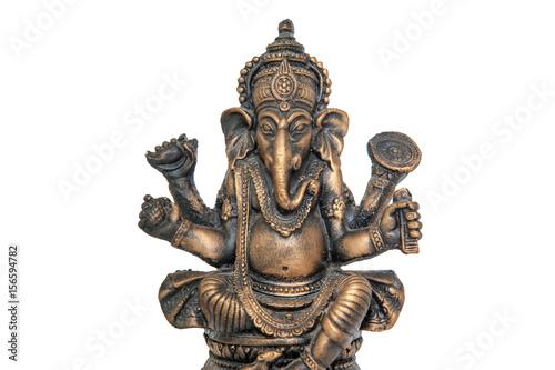 Photo  Wooden craft of Lord Ganesha