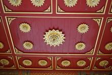 Temple Interior Ceiling Ornate