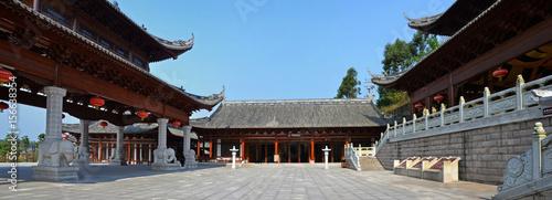 In de dag Peking Baodingshan Caves