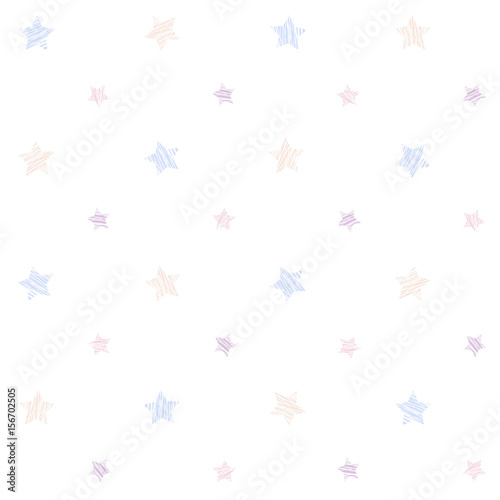 Small Scratched Stars Seamless Pattern Plain Abstract Texture Pale Colored Grunge Background For For Wallpaper Web Page Or Printing On Fabric White Background Buy This Stock Vector And Explore Similar Vectors