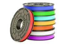 Set Of Colored 3D Printer Fila...