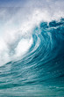 canvas print picture - Big breaking Ocean wave on the north shore of Oahu Hawaii