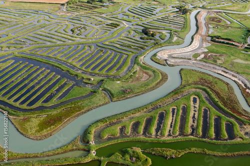 Valokuva  Le Bois de la Mine, Talmont-Saint-Hilaire vue du ciel