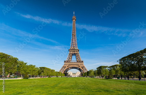 Eiffle tower ,Urban Skyline, Paris, France