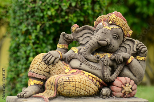 Photo  Ganesha.