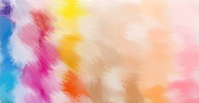 Fur Like Paint Style Abstract Vector Background