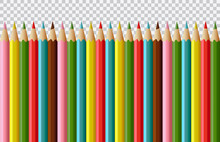 Set Of Vector Realistic Colore...