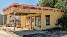 Abandoned Gas Station In Texas