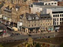 Aerial View Of Princes Street ...