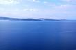 la mer Egée à Santorin