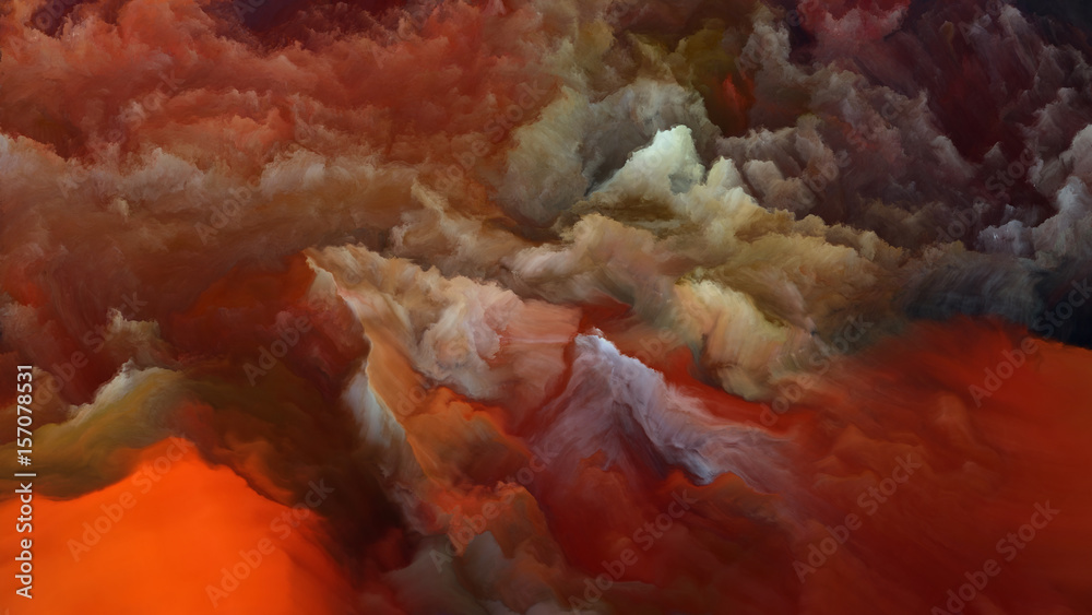 Fototapety, obrazy: Computing Alien Atmosphere