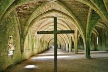 Cellarium - Fountains Abbey