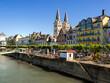 canvas print picture - Boppard Rhein