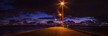 Long Jetty Wharf Perth Sunset Australia