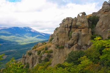 view from the mountain Demerdzhi