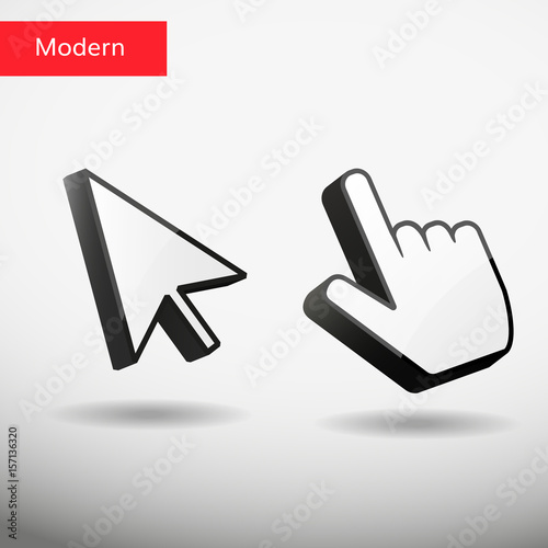 Mouse Cursor Pointer Symbols Buy This Stock Vector And Explore