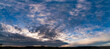 sky with clouds background, heavenly clouds pan
