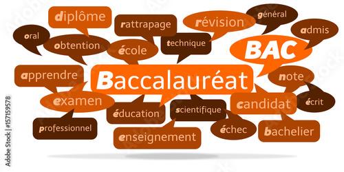 Foto  Nuage de Mots Baccalauréat v3