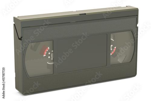 Fotografie, Obraz  Videotape closeup, 3D rendering
