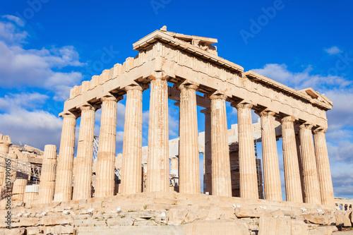Canvas Prints Historical buildings Parthenon Temple in Athens