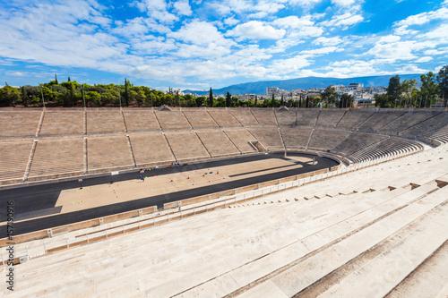 Staande foto Athene Panathenaic Stadium also Kallimarmaro