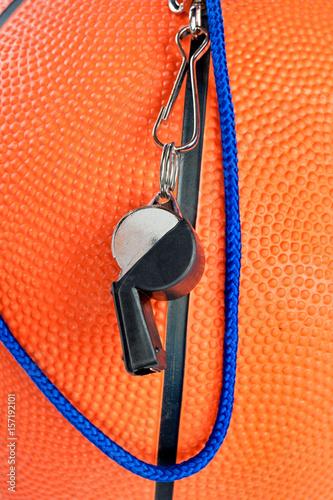 Fotografia, Obraz  Basketball and whistle