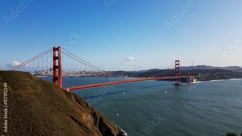 Plakat Most złotej bramy