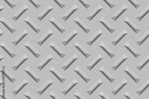 Vászonkép Crosshatched metal surface