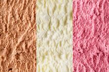 Neapolitan Ice Cream Background