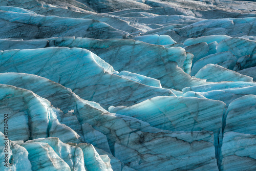 Printed kitchen splashbacks Glaciers Svinafellsjokull glacier in Vatnajokull National Park