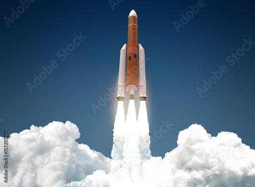 Fototapeta  rocket launch