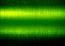 Grunge Green Metal With Light Background