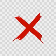X Letter Brush