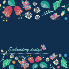 Vector Decorative Background W...
