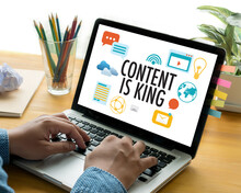 CONTENT IS KING Seo Search Eng...