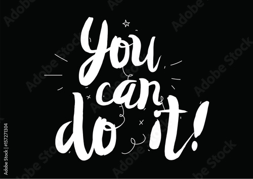 Pinturas sobre lienzo  You can do it
