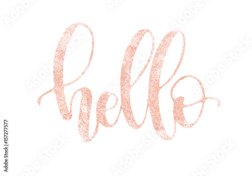 Hand drawn namaste lettering indian greeting hello in hindi