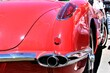 An image of a classic car fin, vintage - us classic car