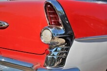 An Image Of A Classic Car Fin,...