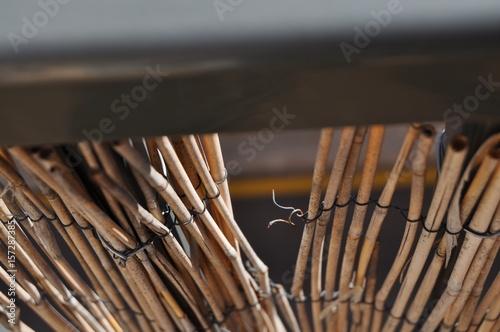 Rotura de alambre Canvas Print