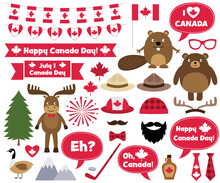 Canada Day Design Elements And...