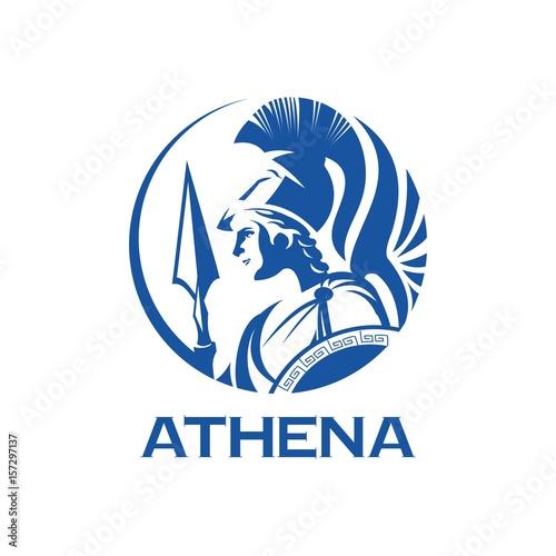 Fotografie, Obraz  greek goddess athena illustration
