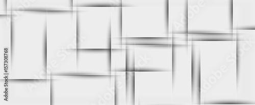Plakaty szare  white-paper-geometric-texture