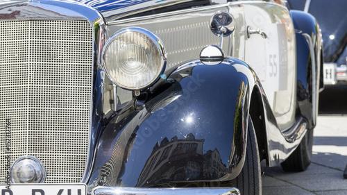 Keuken foto achterwand Vintage cars mercedes oldtimer, dreiziger jahre.