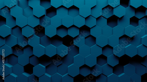 Photo Abstract hexagon geometry background