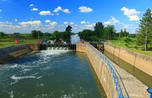 Locks On The River Begej